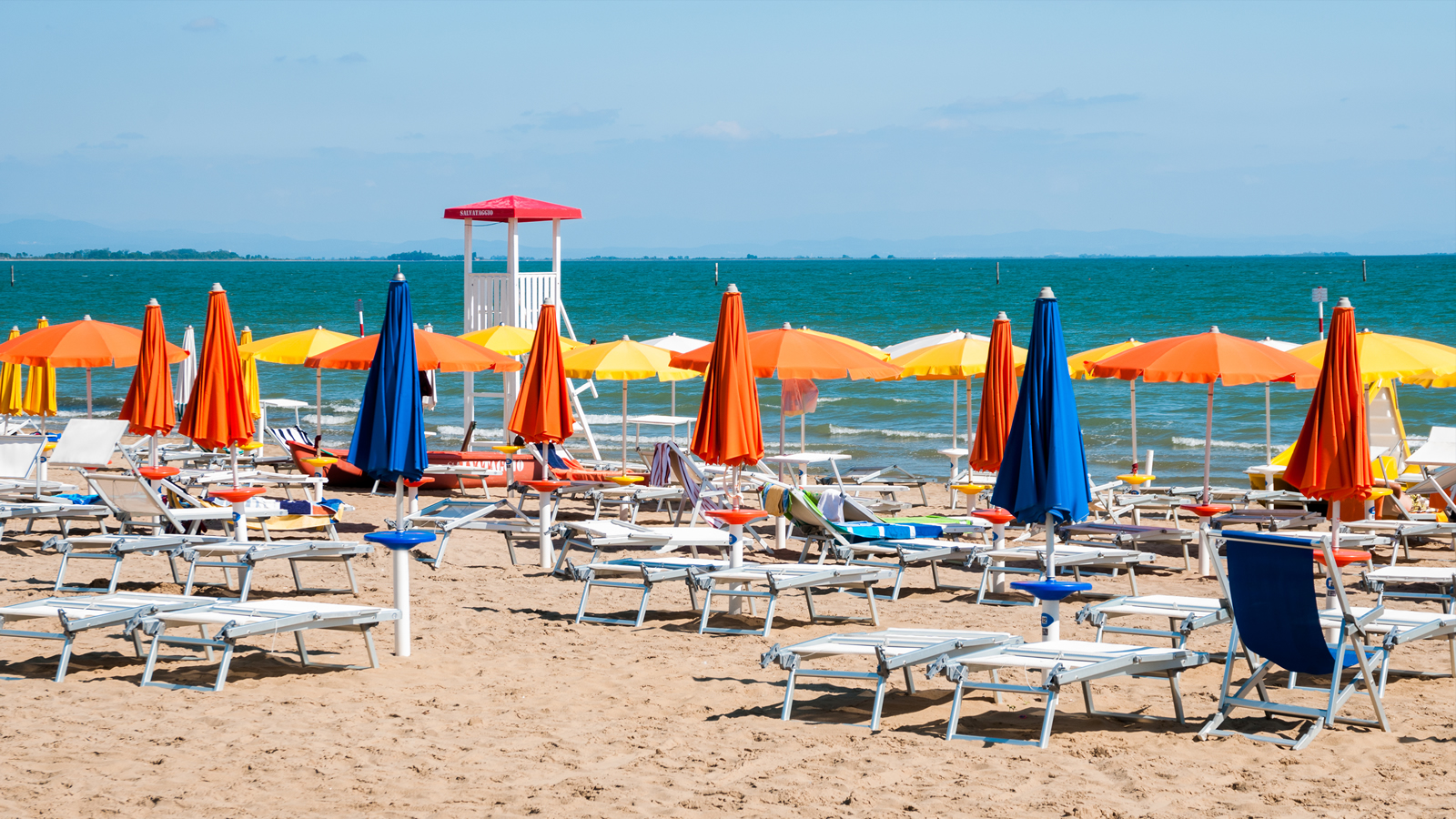 Lignano Italija summer vacation